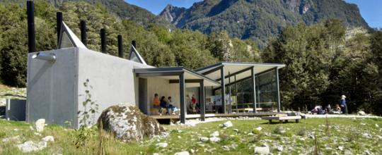 Routeburn Shelter 002